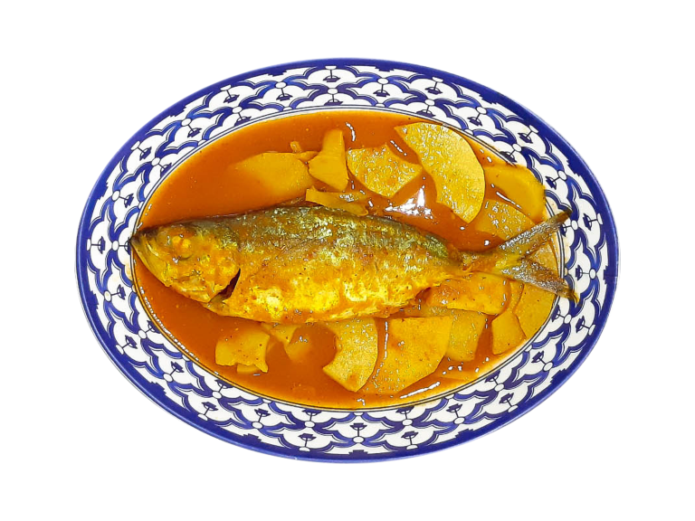 Spicy and Sour Pickled Bamboo Shoot Soup with Mackerel - Portfolio img